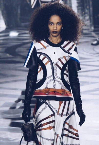 Спортивный шик: Louis Vuitton осень-зима 2016