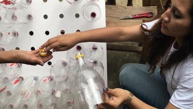 Кондиционер своими руками пластиковые бутылки