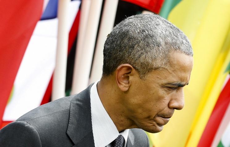Обама пожаловался партнерам по G7 на высокий курс доллара, ведущий к снижению экспорта