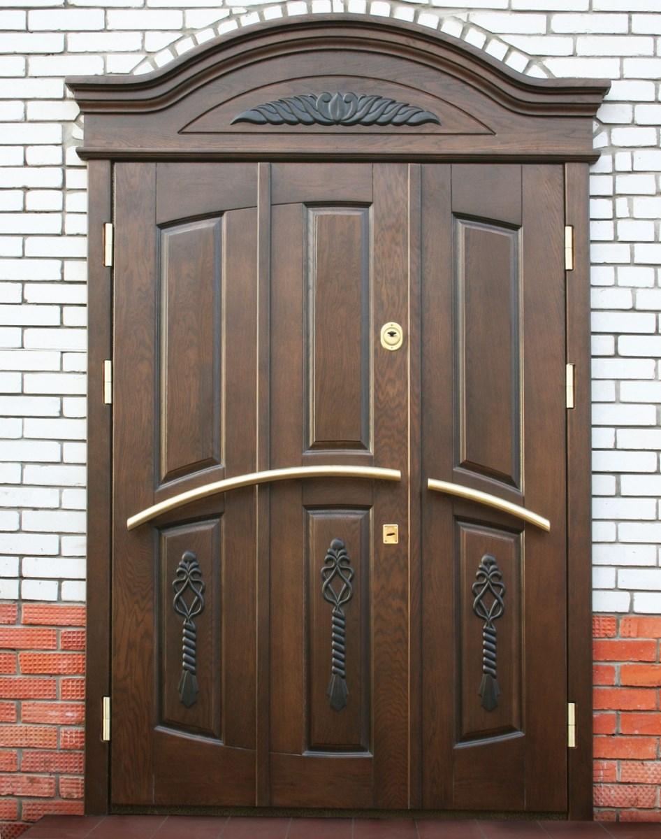 входные загородные двери