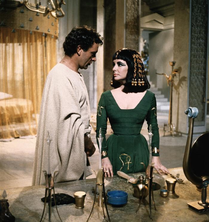 Элизабет Тейлор (Elizabeth Taylor) на съемках фильма «Клеопатра» (Cleopatra) (1963), фото 14