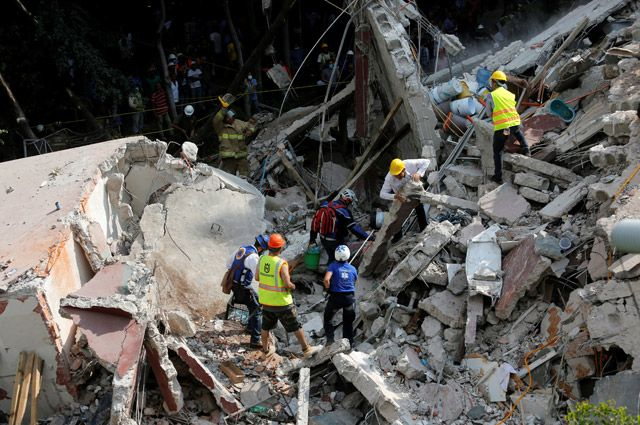 Землетрясение в Мексике. Главное