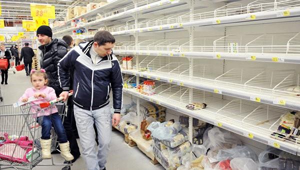Украинским торговым сетям грозит разорение