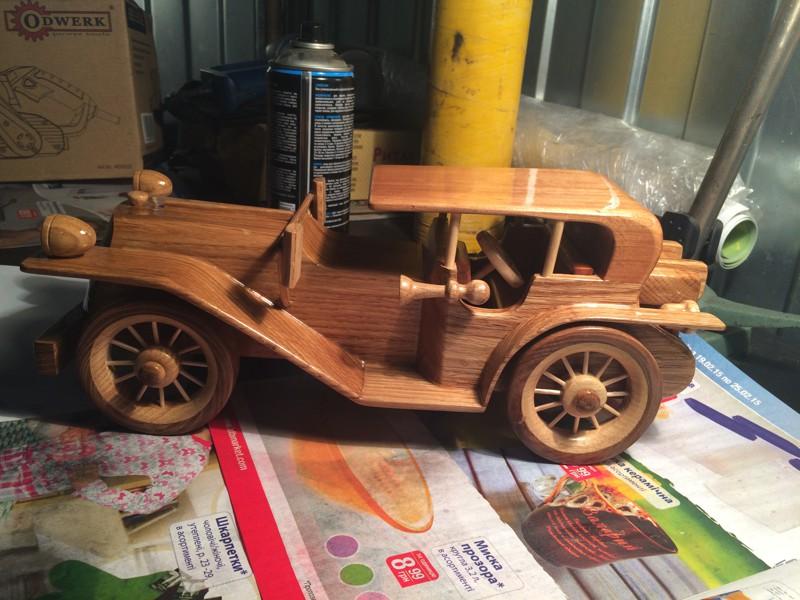 Как сделать деревянную машину своими руками большую 88