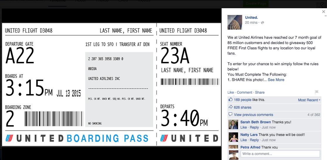 Fake ticket maker