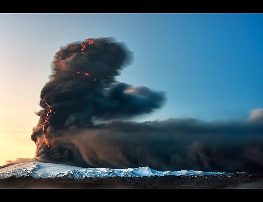 Вулканическая Исландия вулкан, фото