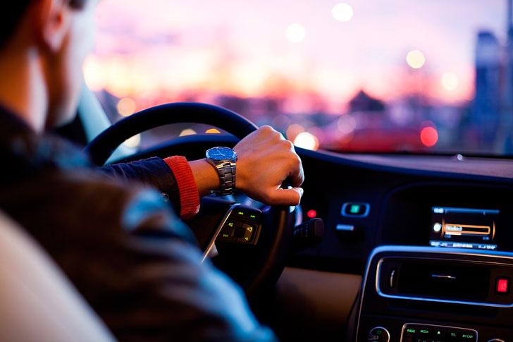 История о том, как водитель …