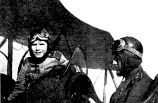 Аркадий Каманин - самый молодой летчик Второй мировой войны