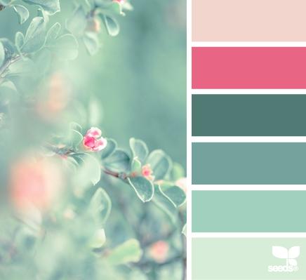 природе такие цвета
