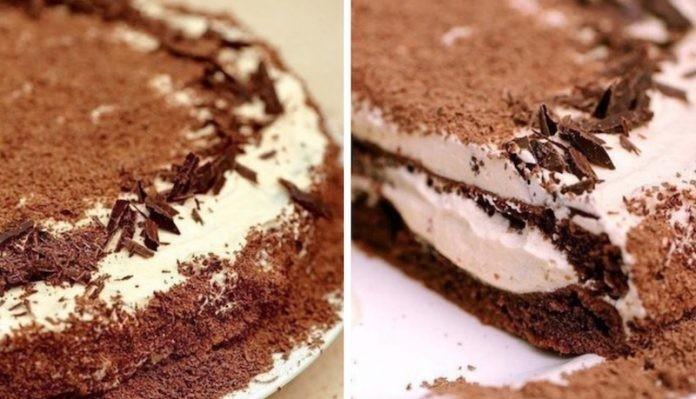 Торт «Мокко»: Нежный, воздушный и вкусный десерт