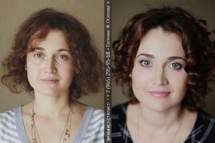 Грамотный макияж и прическа —  визажист делает красивых женщин роскошными