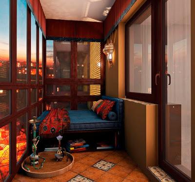Что такое уютный балкон
