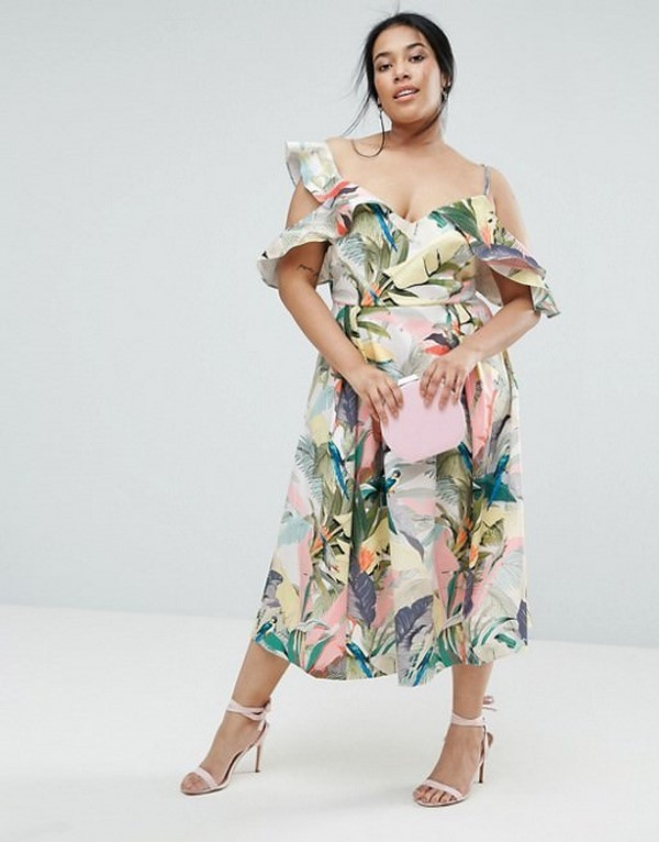 Красивые платья для полных женщин 2018-2019 - идеальные фасоны