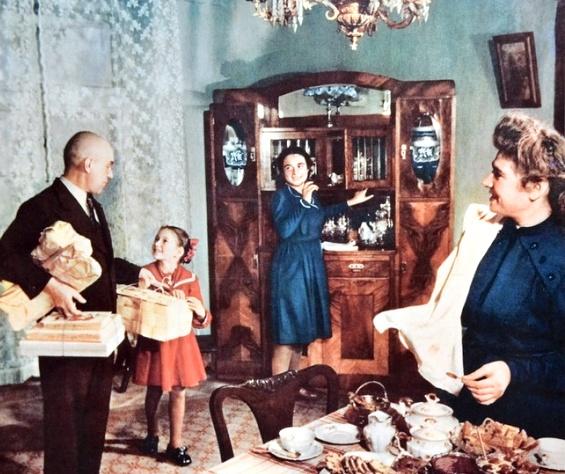 Кто жил в отдельных квартирах в сталинские времена