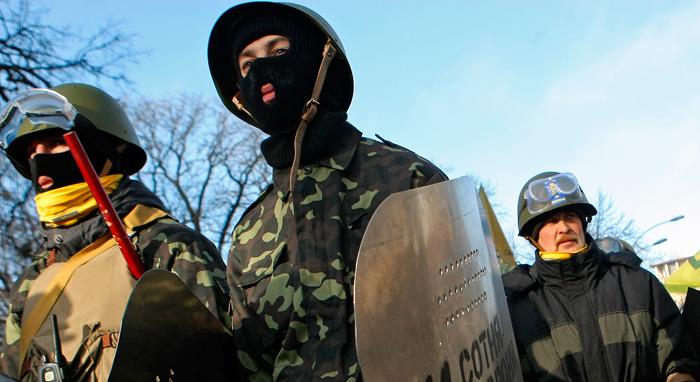 В Киеве продолжается широкомасштабный бандеровский террор.