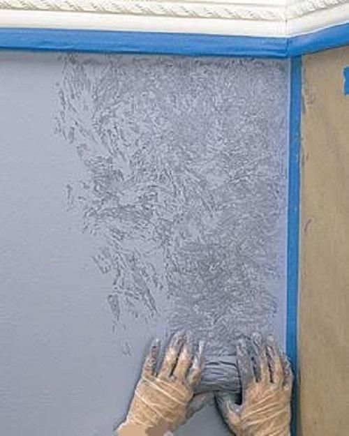 Мастер-класс окраска стен