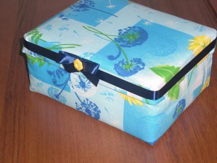 Как сделать из коробки шкатулку в домашних условиях