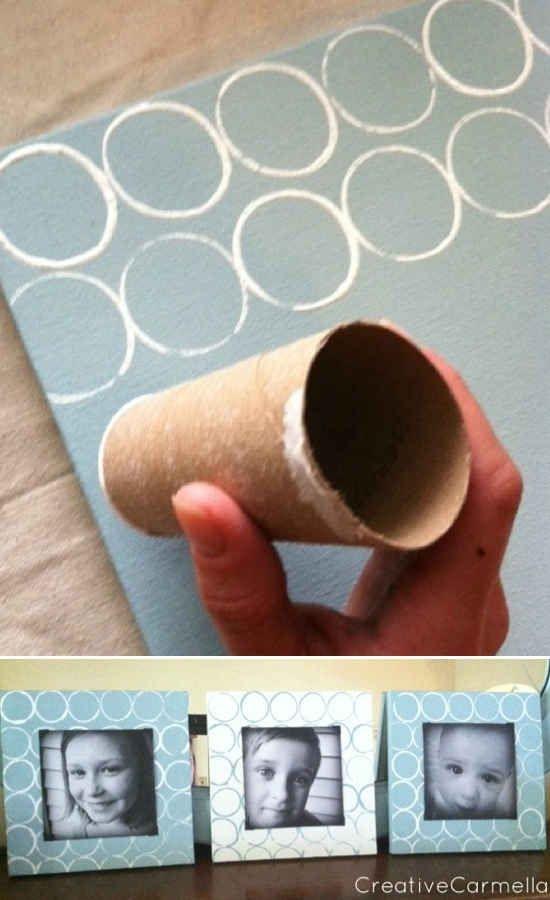Дерево на стену из туалетной бумаги