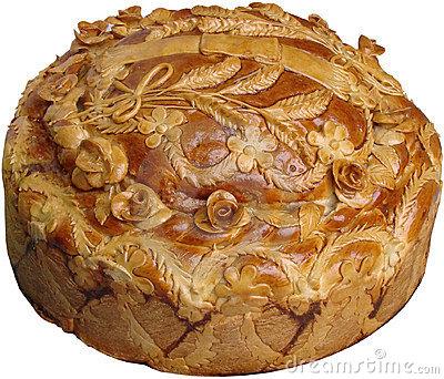 Ukrainisches festliches Brot 3