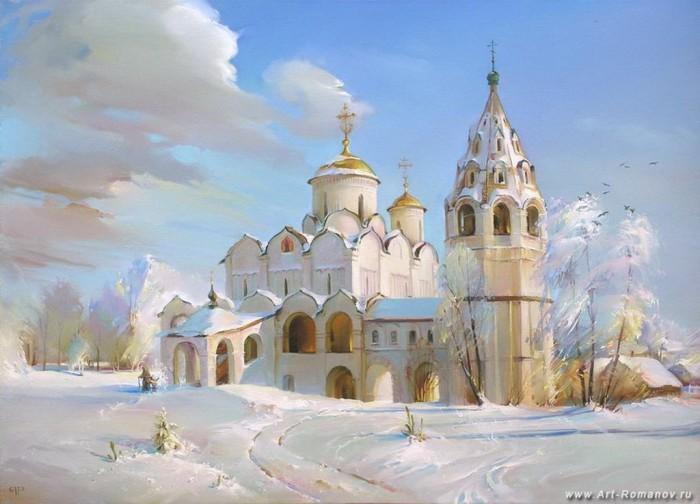 пейзажи Роман Романов -01