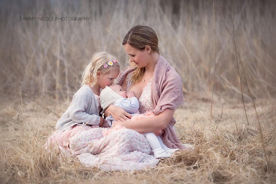 фото красивая мамочек