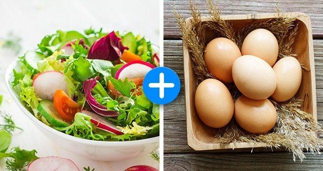 Сочетание продуктов, которые помогут вам похудеть