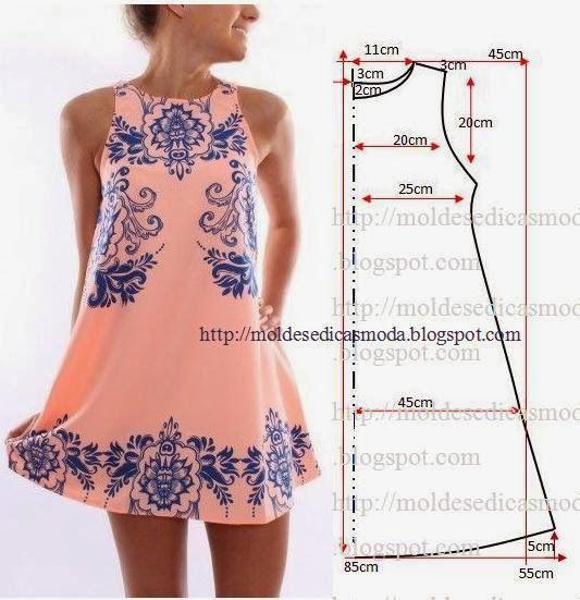 Moldes Moda POR Medida: Vestido Facil DE FAZER - 3