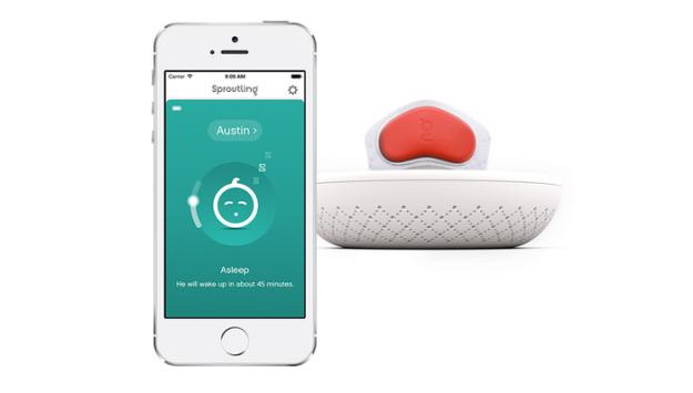 sproutling baby monitor 1 Apple и Google разработали «умное» устройство для младенцев