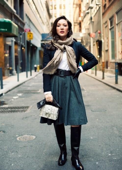 Французские модные женщины