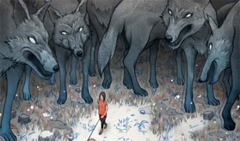 Что делать, если на вас напала стая волков