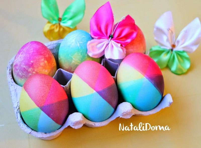 Готовимся к Пасхе. Два необычных способа окрашивания яиц от Natalidoma!