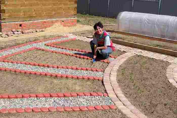Идеи грядок для дачи и сада своими руками фото