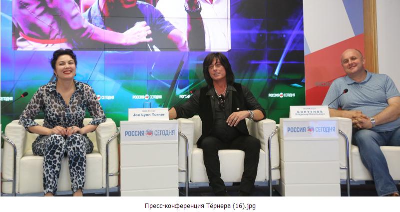 Экс-вокалист «Deep Purple»: западная пресса не рассказывает правды о происходящем в Крыму
