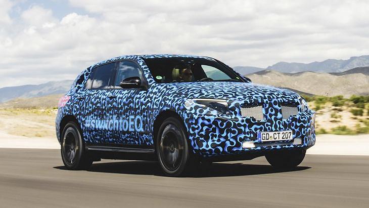 Mercedes-Benz отчиталась об испытаниях электрокроссовера