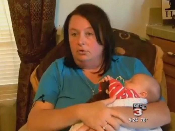 Когда она узнала, что береме…