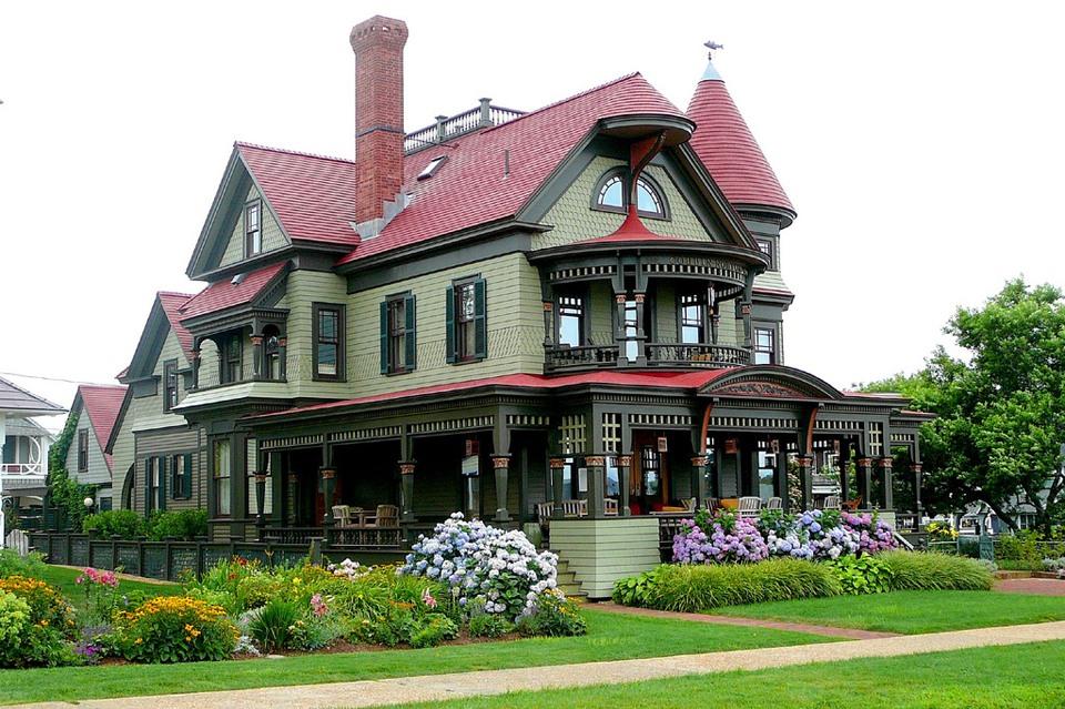 NewPix. ru - Очаровательные домики в Викторианском стиле