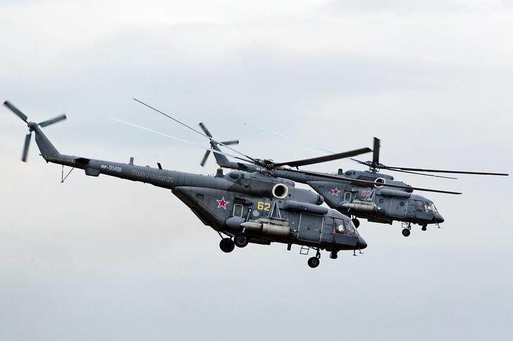 Авиаполк армейской авиации ВВО получил новые вертолеты