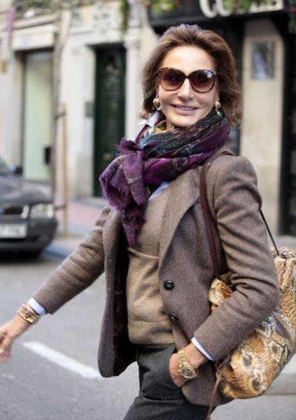 Выглядеть здорово можно в любом возрасте. Как вы думаете, сколько лет этой шикарной женщине?