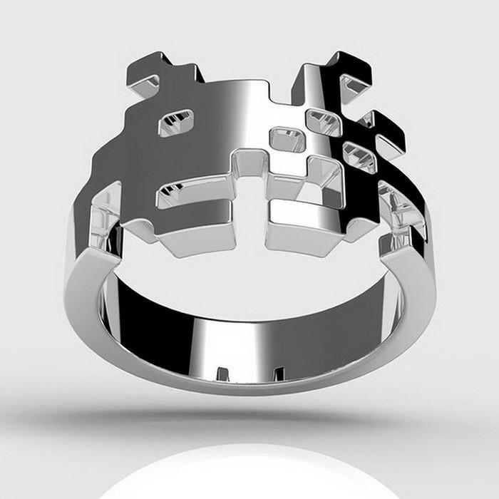 Кольцо космического захватчика диза, кольцо, креатив