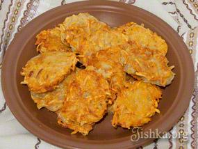 Картофельные деруны на раз два три