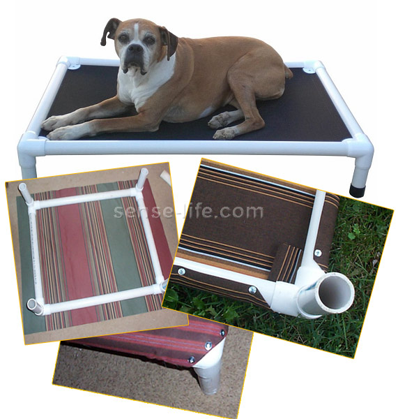 Кровать для собак своими руками