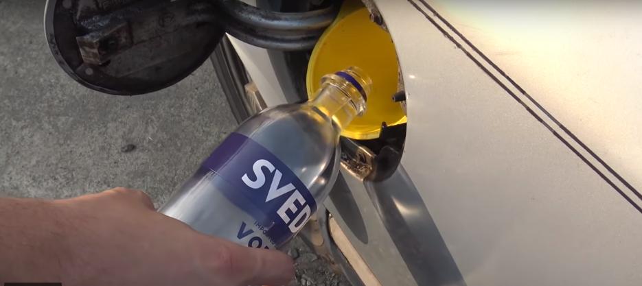 Можно ли использовать водку вместо бензина?