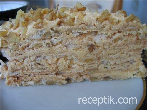 Торт безе с вишней 106