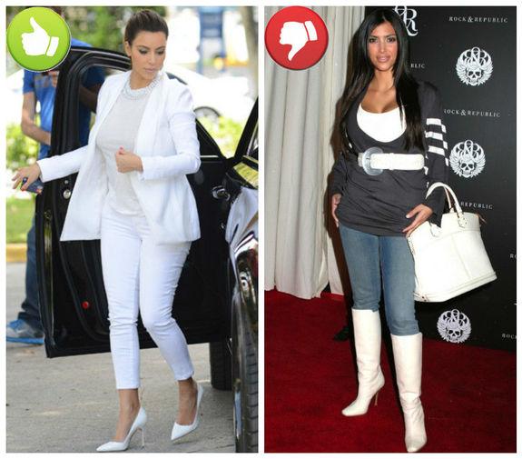 Учимся на ее ошибках: 10 удачных и кошмарных нарядов Ким Кардашян