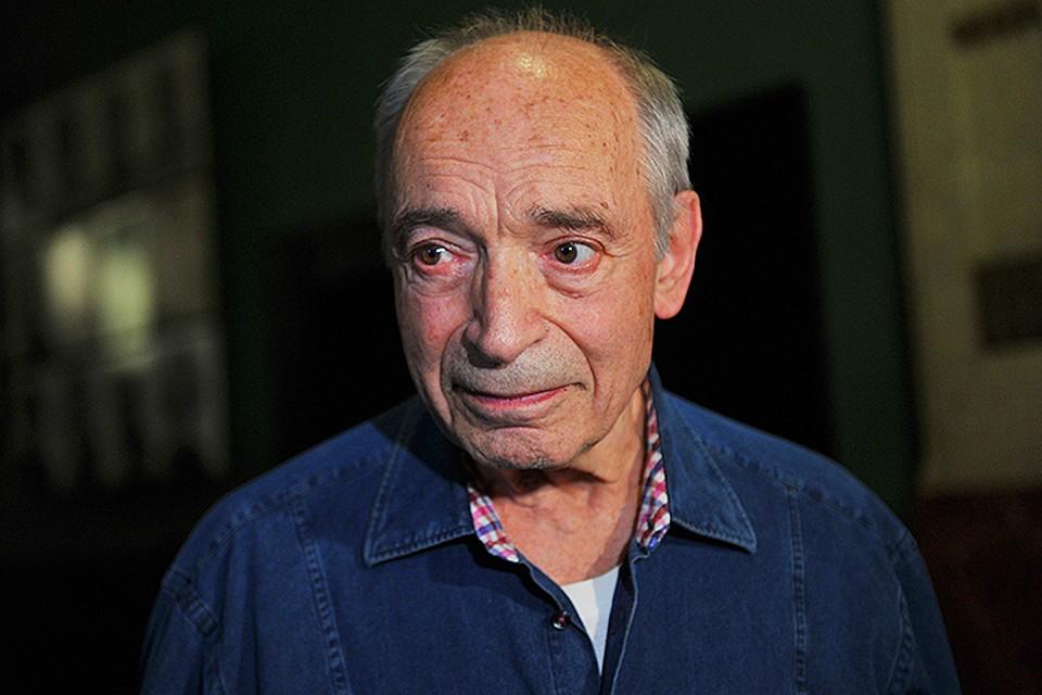 Актеру «Современника» 82 года. Накануне он стал гостем программы «Пусть говорят»