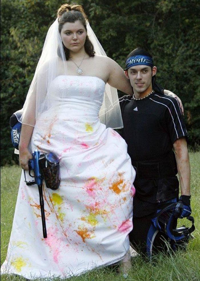 16. Их лица светятся от счастья Свадебные платья, свадьба