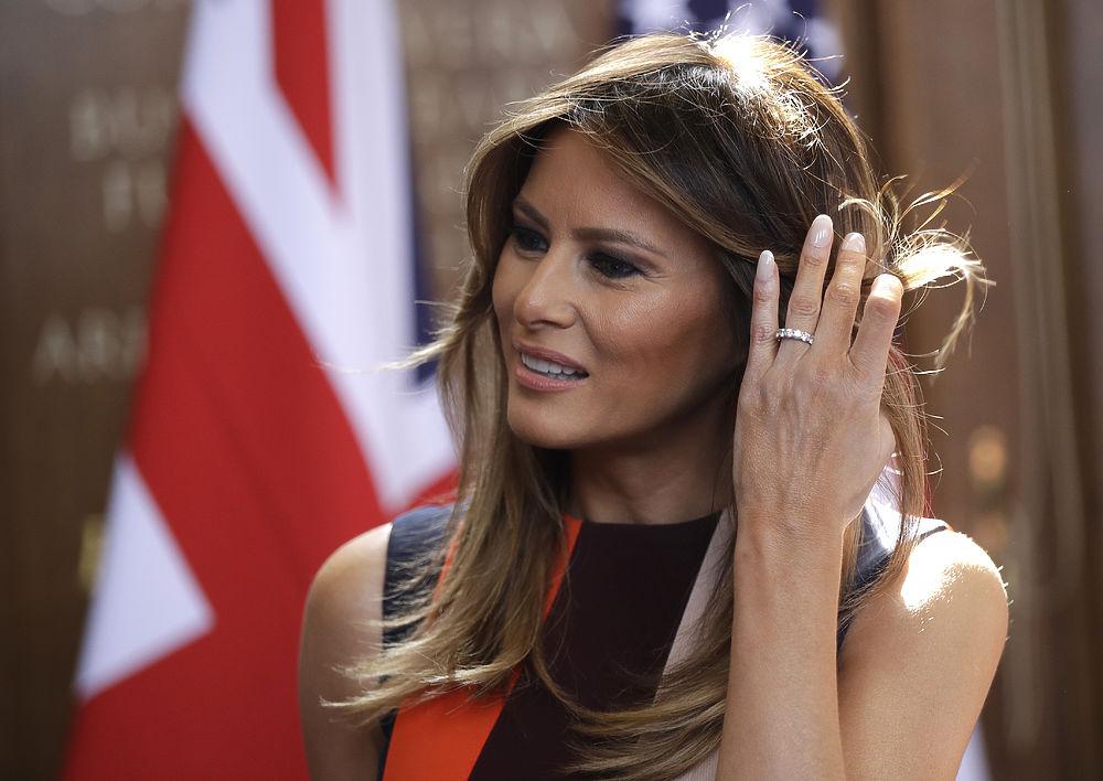 Безупречный стиль первой леди США Мелании Трамп