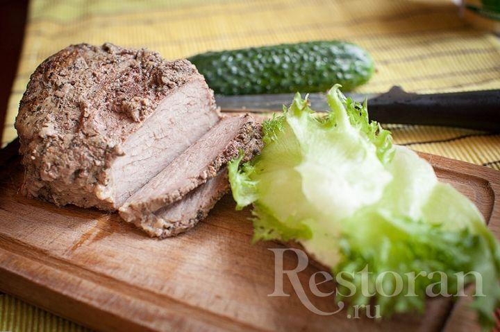 Говядина запеченная в фольге - 3 в 1: основное блюдо, холодная закуска, нарезка для салатов и бутербродов