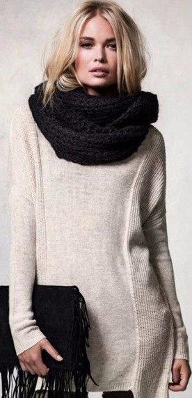 Стильные шарфики