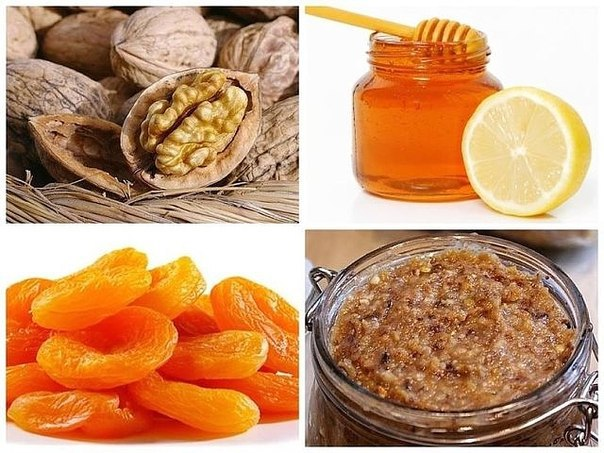 В качестве натуральной витаминной добавки очень хорошо принимать так называемую Пасту Амосова